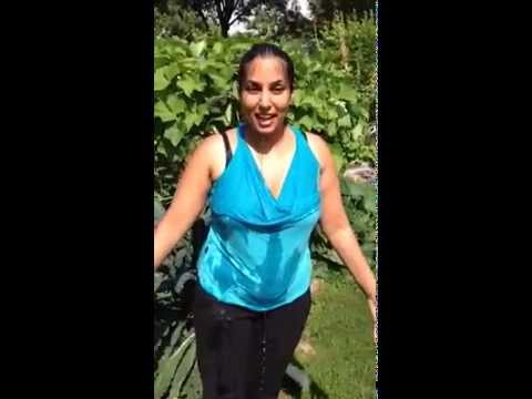 City Council candidate Niki Sharma does the ALS Ice Bucket Challenge