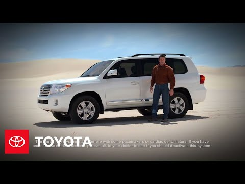 2013 land cruiser how-to: smart key system | toyota - youtube  youtube