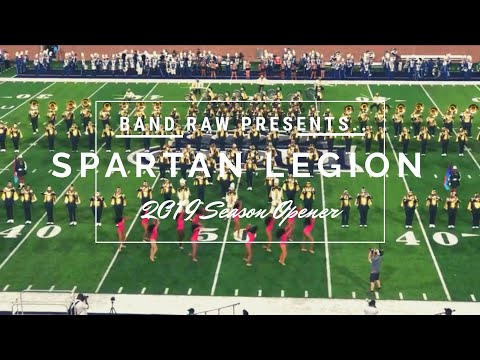 BAND RAW || Spartan Legion Halftime Vs. ODU || 2019