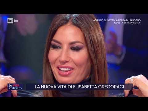 Elisabetta Gregoraci - La vita in diretta 19/11/2019