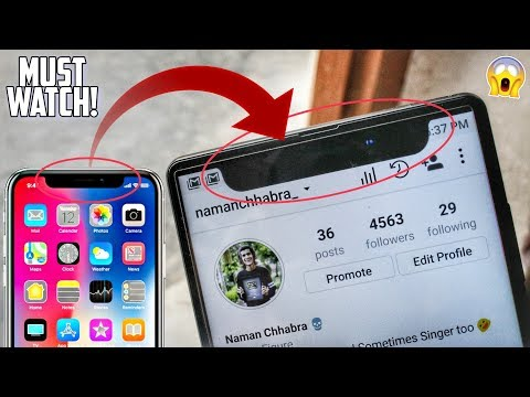 Turn your ANDROID Phone into an iPhone X in 1 minute!