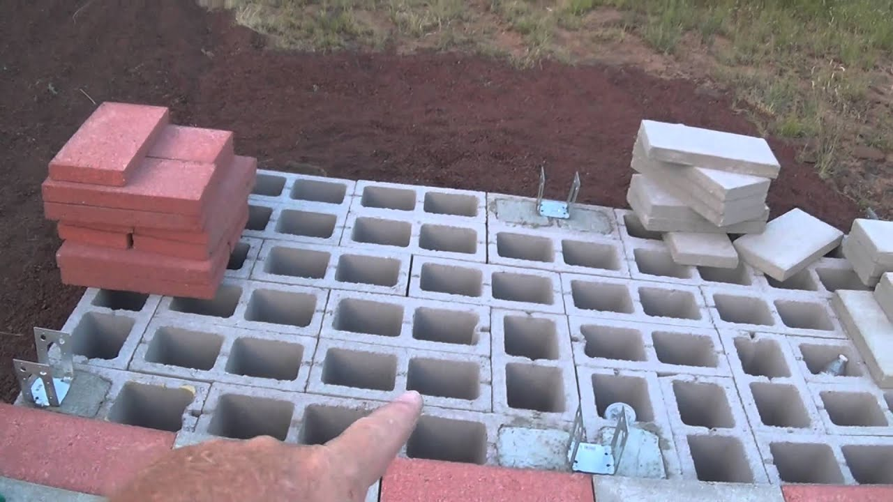 Perfect Floor For The Outdoor Off Grid Bathroom   ArizonaHotHomestead   YouTube