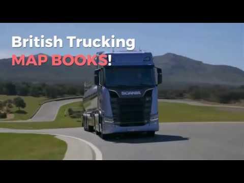 British Trucking Map Books