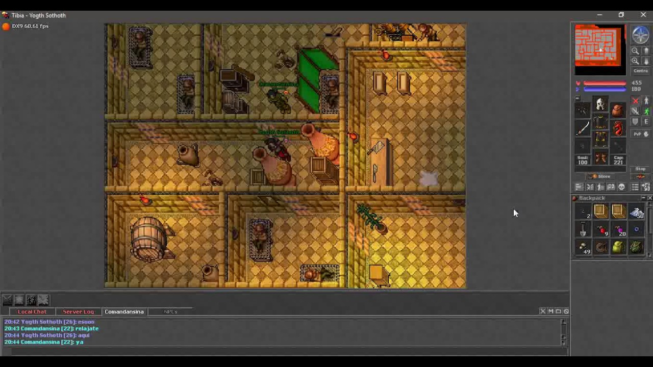 Nomads Land Tibia Tales Quest Youtube