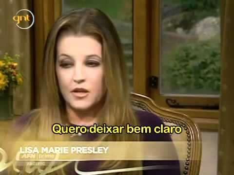 Lisa Presley Comenta Sobre Seu Casamento Com Michael