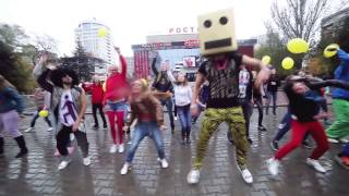 lmfao flashmob on rostov on don