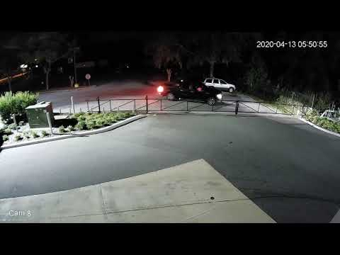Night Hawk Monitoring Car dealership Attempted Vehicle Theft Deterred - 4/13/2020