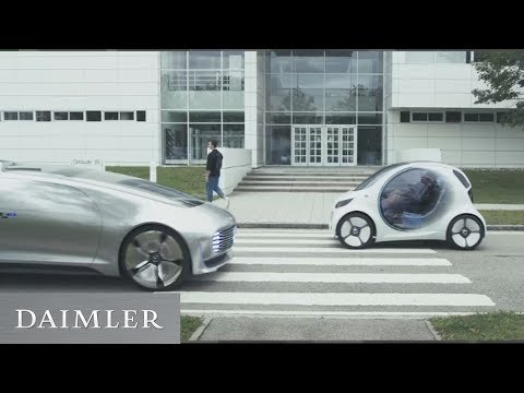 Daimler at Electric Vehicle Symposium: On the road to the future