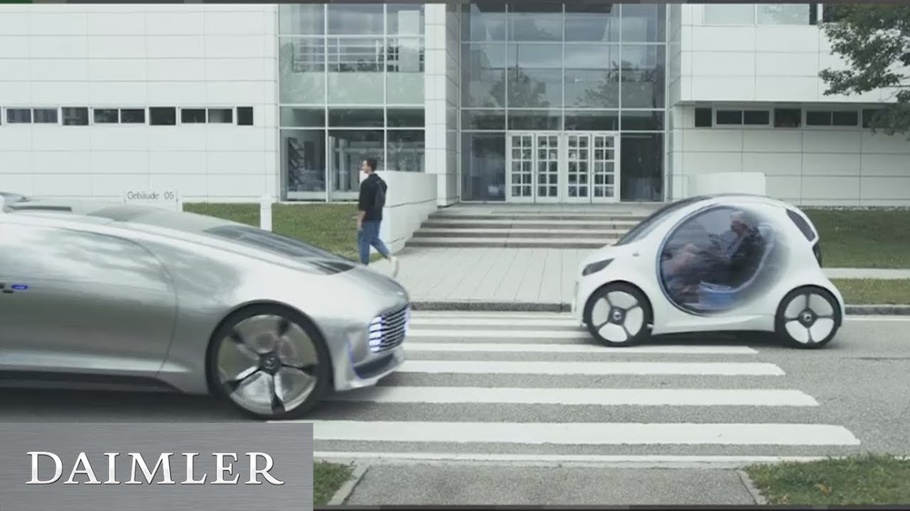 Daimler At Electric Vehicle Symposium On The Road To Future