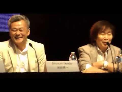 Gundam Panel at Animazement 2014 - Part 2