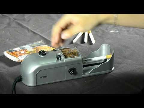 Обзор электрической машинки для набивки сигарет - YouTube