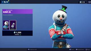 "Fortnite Item Shop NEW SLUSHY JR. SOLDIER SKIN SECRET SKIN ""SNOWMAN"" Fortnite Battle Royale ⛄⛄⛄"