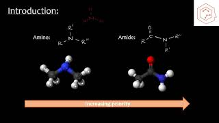 SCH4U/Grade 12 Chemistry: Amines and amides