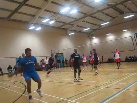 Liverpool Volleyball tournament - Finals part 1 - ISC Vienna vs.Liverpool Lions
