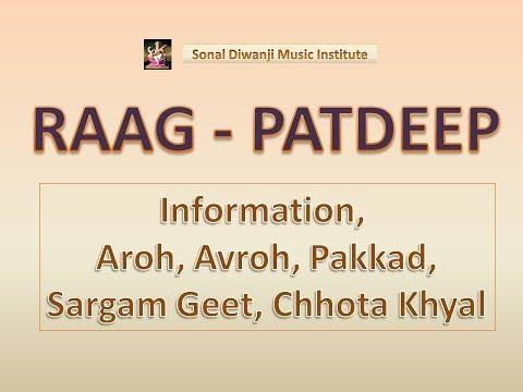 raag-patdeep-l-with-notation-l-राग-पटदीप-l-chota-khayal-l-alaap-taan-l-lesson-l-sonal-diwanji-l