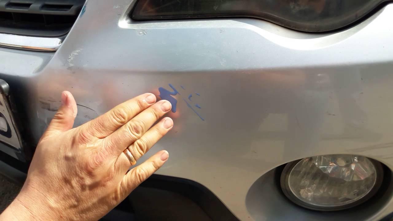 Закраска царапин своими руками фото 865
