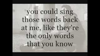 Frank Turner - Four Simple Words with lyrics