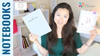 Notebook Comparison | Golden Coil vs Plum Paper vs Erin Condren Custom Notebooks - Which is best