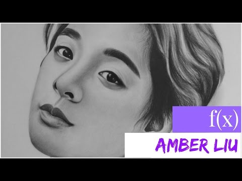 Drawing Amber Liu from f(x)
