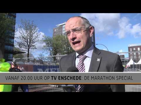 Enschede Marathon 2016: Onno van Veldhuizen