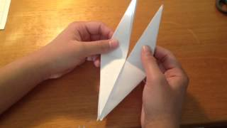 Faire une grue en origami - Réaliser une grue en papier: Astuce grue origami