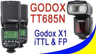 Godox TT685N i-TTL Speedlite For Nikon - огляд і Розпаковування