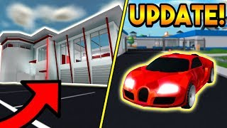 NEW NERO CAR, CRIMINAL BASE, AND ALIEN INVASION UPDATE! | ROBLOX: Mad City