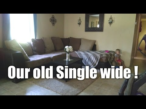 Our OLD Mobile Home! | The First Single Wide I Ever Lived In !