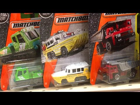 NEW Matchbox Toy Hunt 2017 Matchbox Case L DukDuk Duck Boat Diecast Toy Unboxing Trucks for Kids