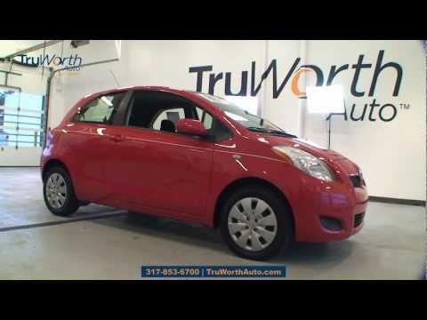 "2009 Toyota Yaris - ""Clean CARFAX, AUX, Satellite Radio"" - TruWorth Auto"