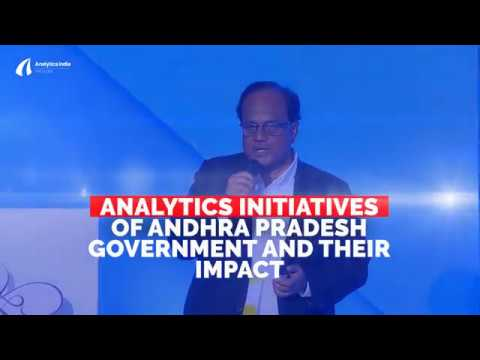 JA Chowdary of Andhra Pradesh Govt talks about state Analytics initiatives @ #Cypher2017