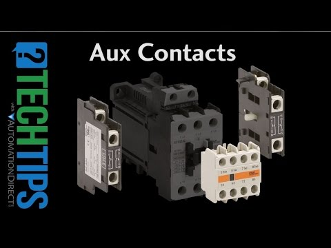 Tech Tip: How To Use Aux Contacts with Your Contactor thumbnail