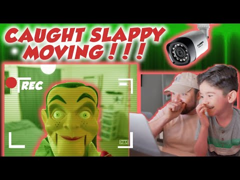 Slappy, Benson and Forky move in room | Toys Story 4 and Goosebumps movie OMG!