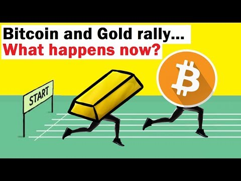 Bitcoin And Gold Rally... What Happens Now?