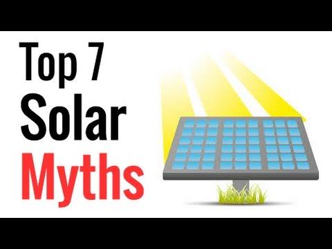 Top 7 Solar Myths