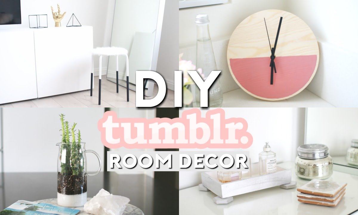 diy tumblr room decor minimal simple youtube - Minimal Room Decor