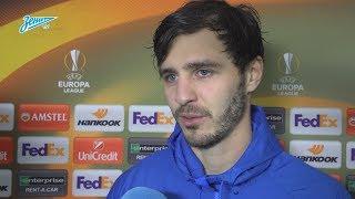 Александр Ерохин: «Манчини сказал, что нужно терпеть, сохранять концентрацию и ждать своих моментов»