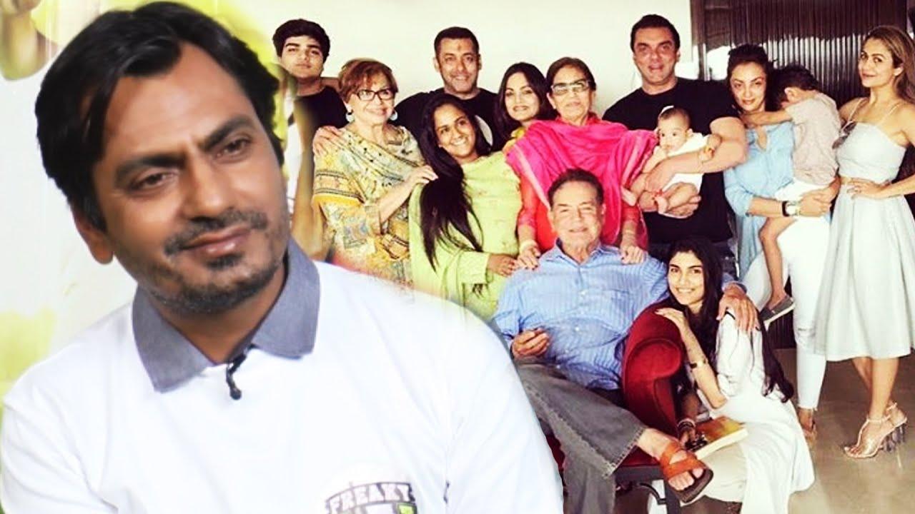 Nawazuddin Siddiqui Is Now Part Of Salman Khan's Family ...