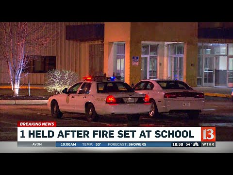 Fire at east side charter school
