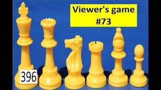 Viewer's Game #73 ¦ The Bishop is my favourite piece!