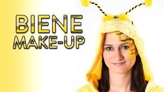 BIENE schminken - Make Up Tutorial - Fasching, Karneval, Halloween