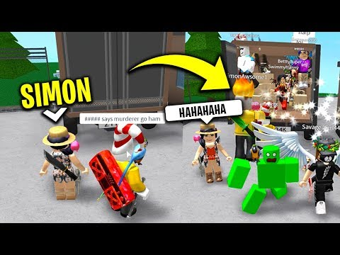 She was SIMON and THIS happened.. (Roblox Simon Says)