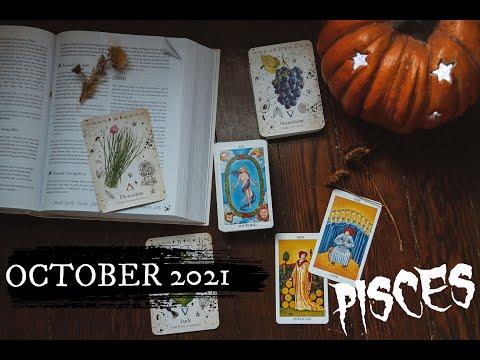 PISCES October 2021 - MANIFESTING Breakthroughs! Pisces General Tarot Reading October Horoscope