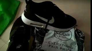 Club factory Unboxing nike shoes at