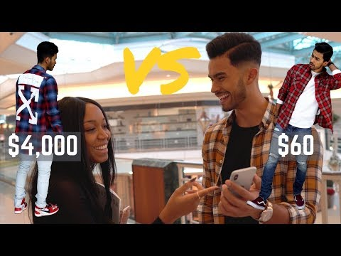 $4,000 HYPEBEAST Outfit vs $60 Outfit | Which One Is MORE Stylish?