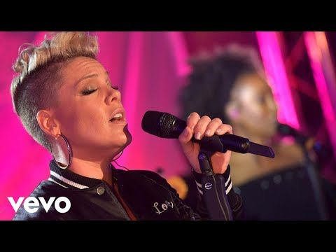 P!nk - What About Us in the Live lounge Mp3
