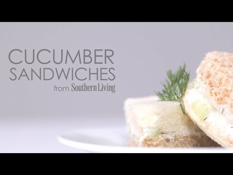 How to Make Cucumber Sandwiches | MyRecipes