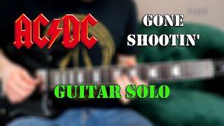 AC/DC - Gone Shootin' - Guitar Solo Tutorial / Lesson |Riff Lesson|