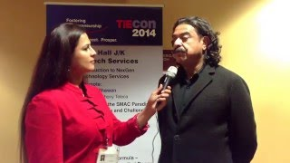 TIEcon 2014 Shahid Khan Interview at the Media Lounge by Chair of Media Harbir K Bhatia