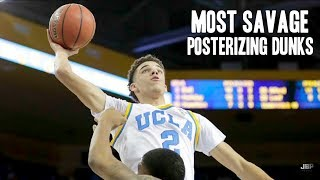 Most Savage Posterizing Dunks of the 2016-17 College Basketball Season ᴴᴰ